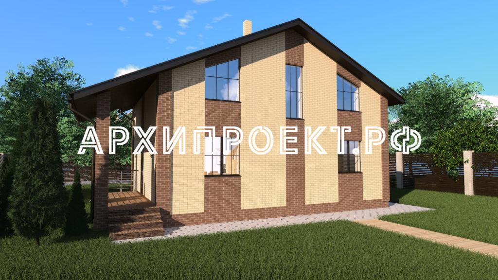 Проект домов 120 кв м с мансардой