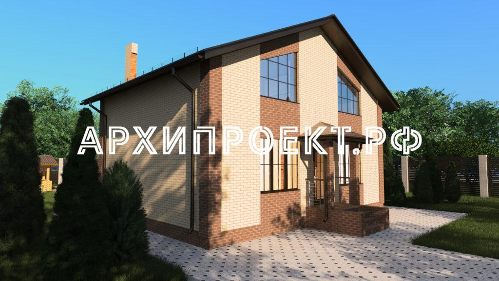 Дом 120 кв м с мансардой фото