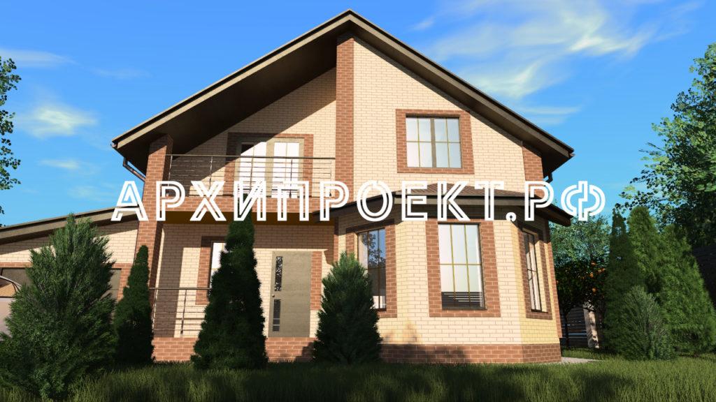 Проект дома 150 кв с мансардой