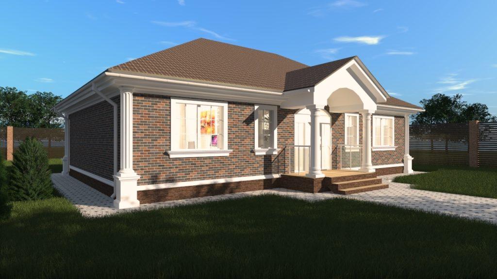 Проект дома 120 кв одноэтажный
