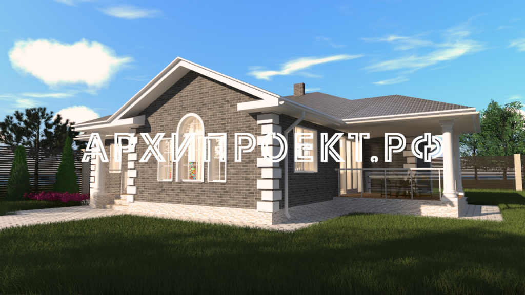 Проект одноэтажного дома 150 м фото
