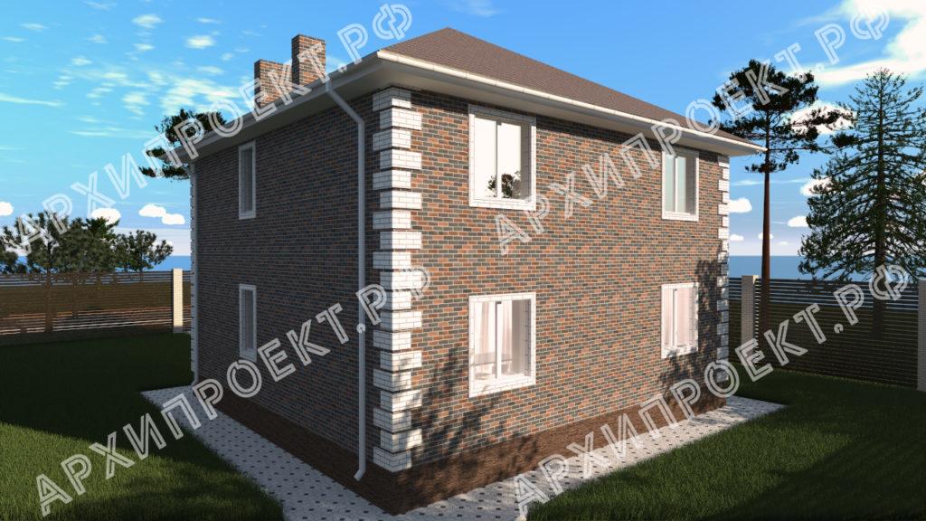 Практичный двухэтажный дом купить