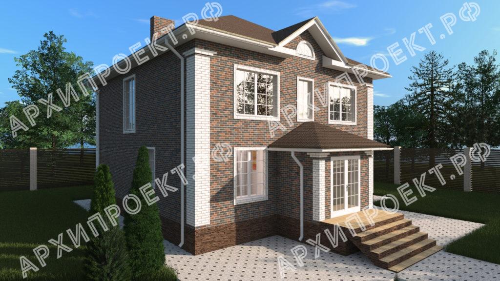 Красивый двухэтажный дом купить проект