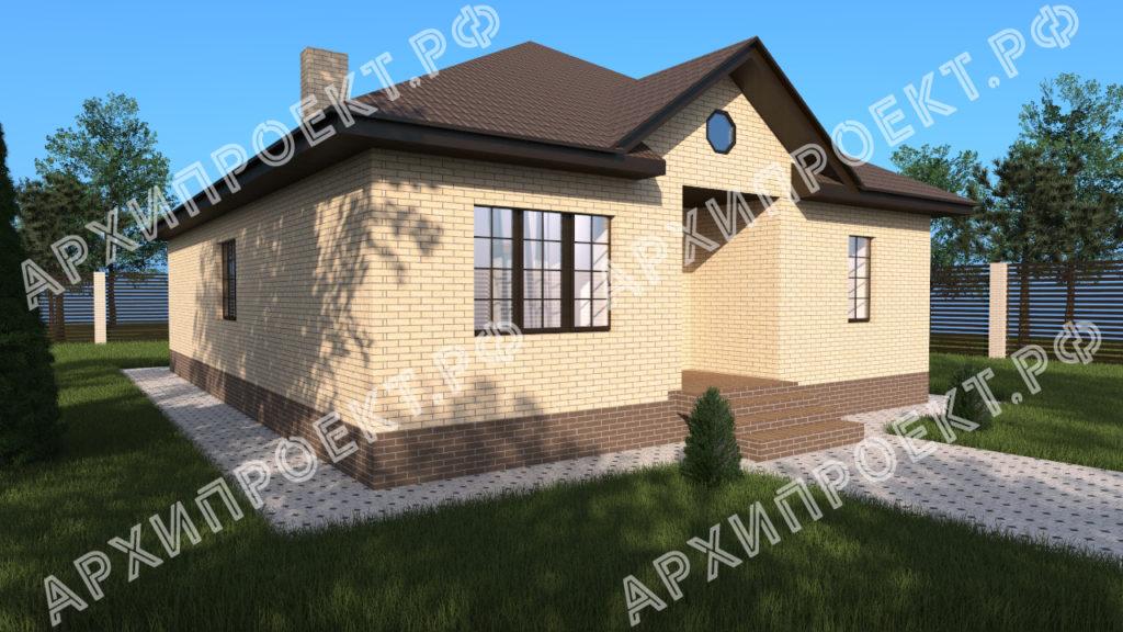 Проект с тремя спальнями купить проект