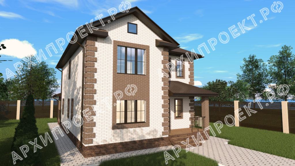 Проект двухэтажного дома до 200 кв м купить проект