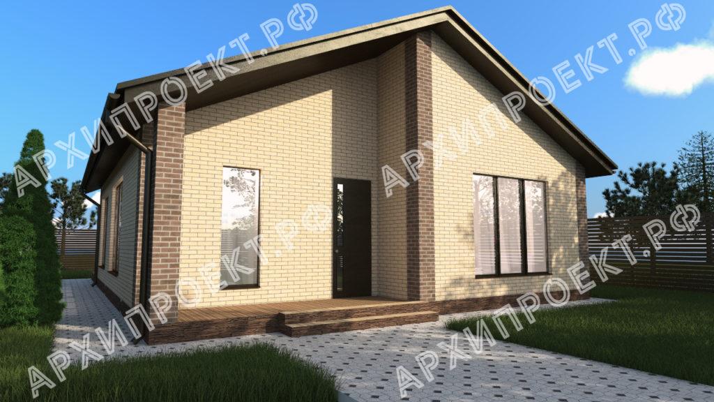 Проект дома для пенсионеров