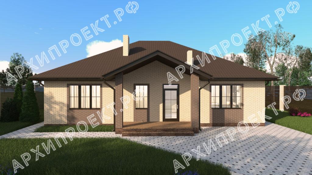 Дом с тремя спальнями