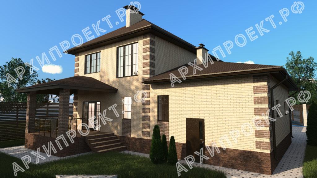 Двухэтажный дом для узкого участка картинки