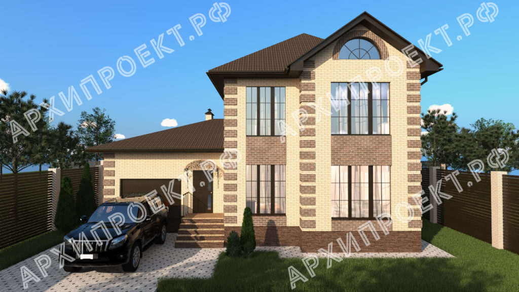 Двухэтажный дом для узкого участка купить проект
