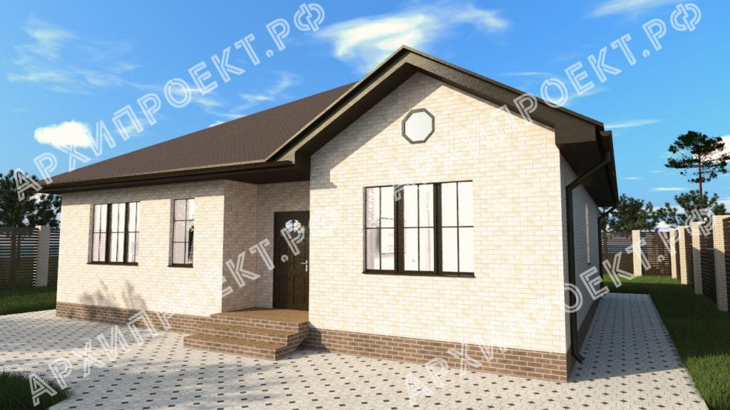 Лучший проект дома одноэтажный