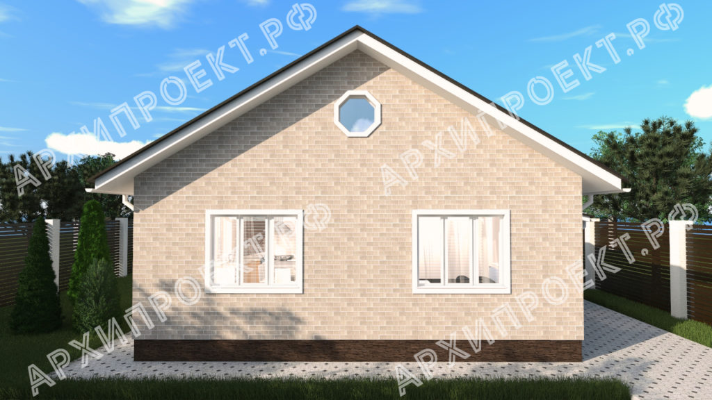 Небольшой дом с баней