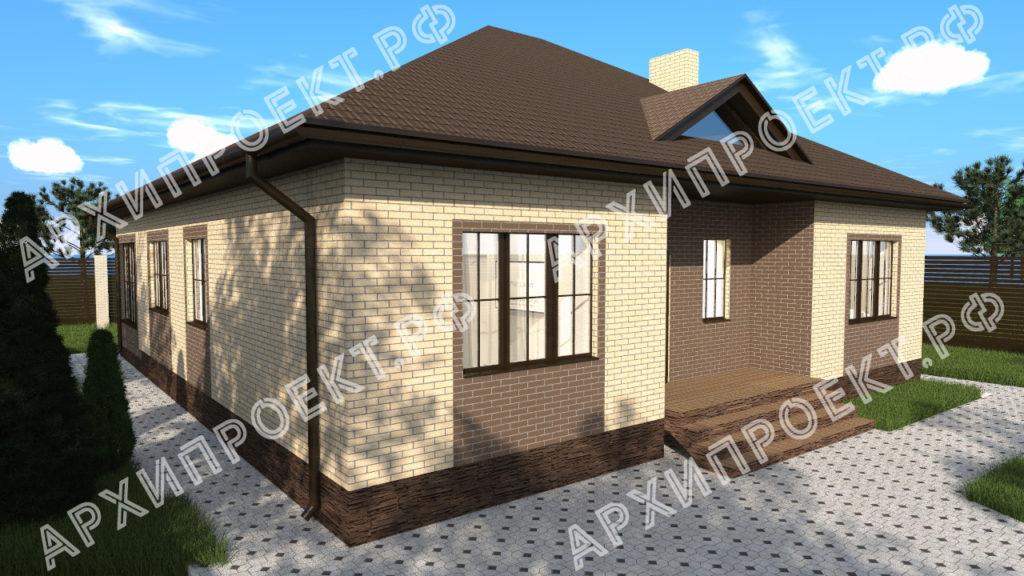 Одноэтажный дом с отличной планировкой фото