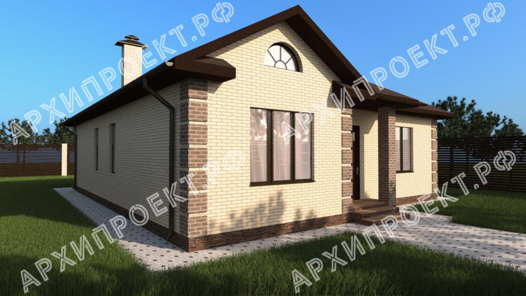 Одноэтажный дом планировка фото