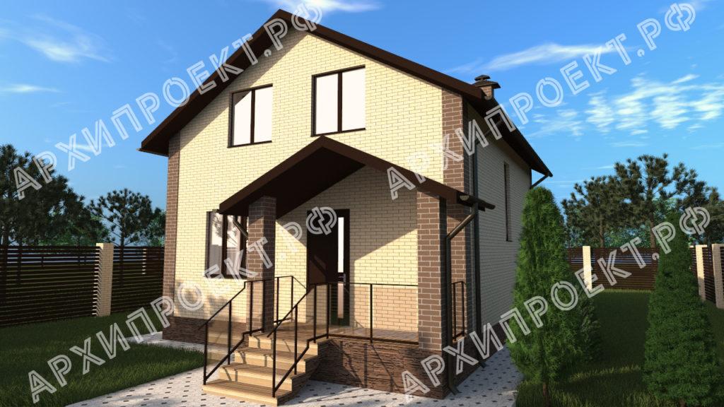 Проект дома на дачном участке фото