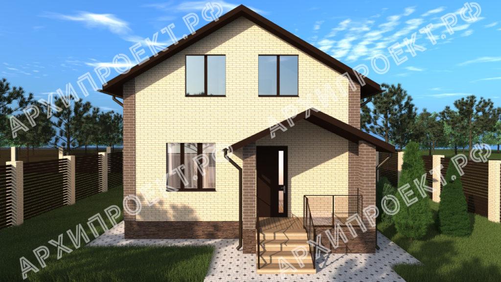 Проект дома на дачном участке