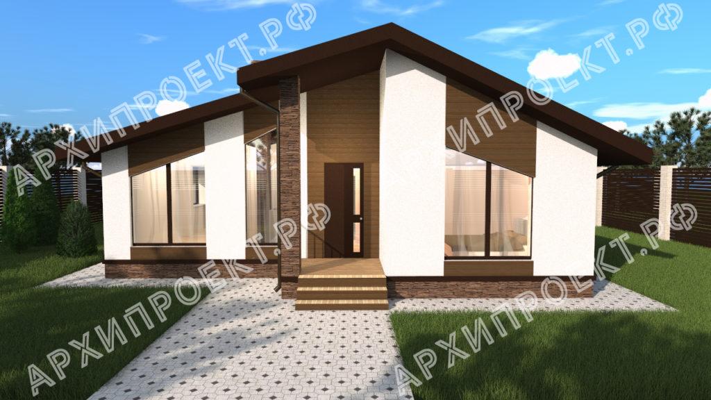 Дом в стиле шале фото